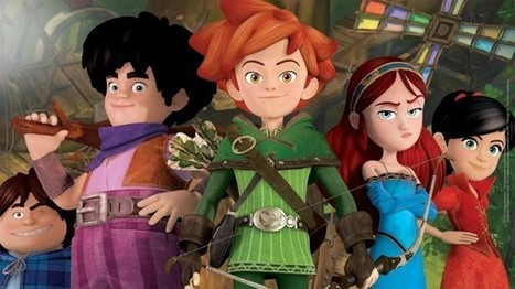 Animation Mag : 'Robin Hood: Mischief in Sherwood' Gets Complete Euro Free TV Carriage | Robin Hood - Mischief in Sherwood | Scoop.it