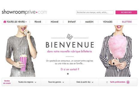 Showroomprivé se lance dans la billeterie avec France Billet   Tourisme Hôtellerie - Veille de la Formation Responsable Etablissement Touristique - Afpa BRIVE   Scoop.it