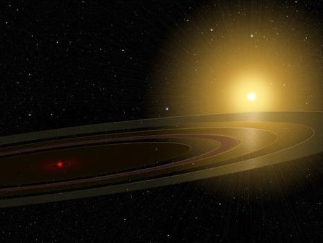 Une jumelle de Saturne   Beyond the cave wall   Scoop.it