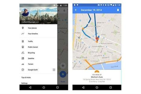 Google Maps Timeline, un registro digital ideal para olvidadizos | NTICs en Educación | Scoop.it