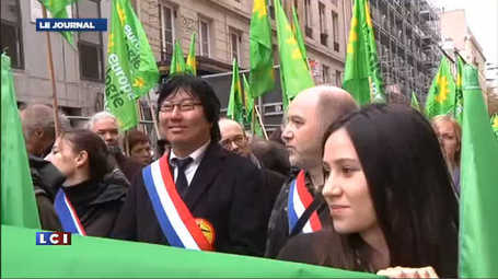 Manifestation à Rennes contre le projet d'aéroport de Notre-Dame-des-Landes - Sciences - TF1 News | ACIPA | Scoop.it