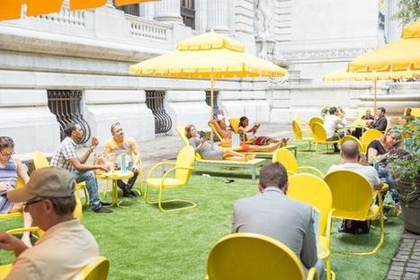 The NYPL's Outdoor Reading Rooms Return For Summer | SocialLibrary | Scoop.it