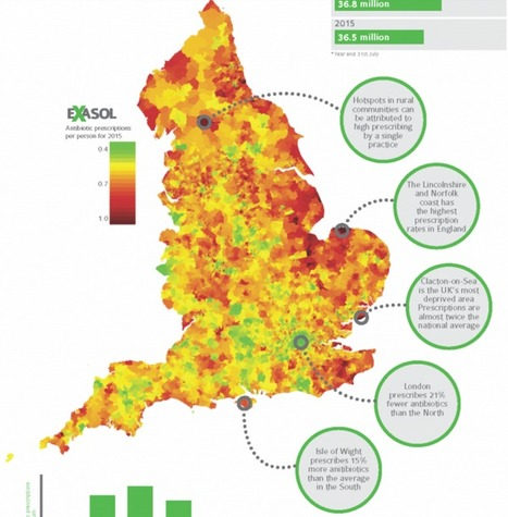 Antibiotic prescribing is higher in deprived areas of England | Public Health for undergraduate medical students | Scoop.it