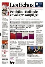 Pénibilité : Macron promet un « ajustement » - Les Échos | Actu, moto & politique | Scoop.it