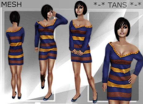 Medita Mesh Sweater Dress Promo by Taneisha Bandler | Teleport Hub - Second Life Freebies | Second Life Freebies | Scoop.it