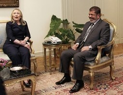 "Morsi's wife threatens to publish letters from Hillary Clinton, exposing ""special relationship"" between Muslim Brotherhood and Obama Administration 