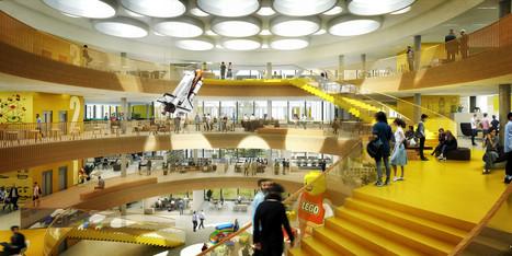 Le futur siège de Lego ressemble à une salle de jeu géante | HR | Scoop.it