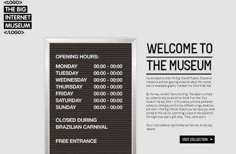 The Big Internet Museum, la historia de internet online en un museo virtual | E-Learning, M-Learning | Scoop.it