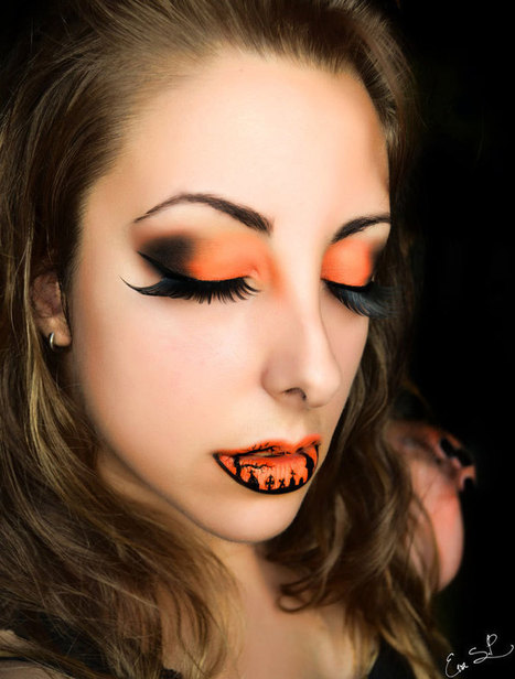 Halloween Lip Makeup Ideas By Eva Pernas | Incredible Snaps | incredible snaps | Scoop.it