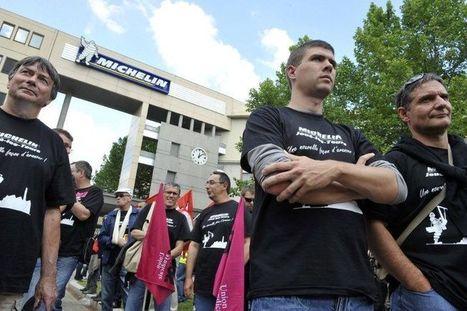 Michelin : signature d'un accord entérinant la suppression de 706 ... - Libération | Lutte des classes - Conflit du travail | Scoop.it