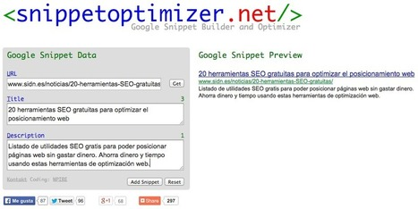 11 Herramientas SEO gratuitas y sencillas | Social Media | Scoop.it
