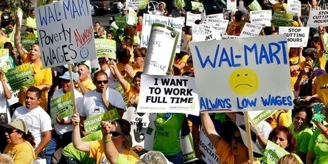 80% of Walmart Employees Forced to Use Food Stamps