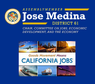 Assemblymember Medina to Hold Hearing on Southern California's Logistical Network and its Effect on Jobs and the Economy | San Diego Center for International Trade Development (CITD) | Global Trade and Logistics | Scoop.it