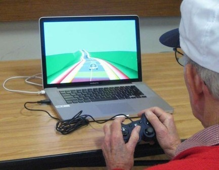 Le cerveau des seniors dopé par un jeu vidéo - Doctissimo | Seniors | Scoop.it