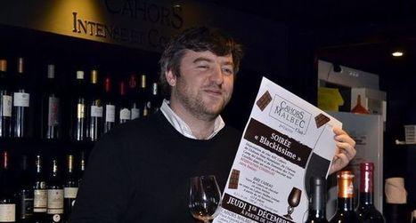 Soirée «Blackissime» : l'accord entre le verre en chocolat et le vin de Cahors | Actualités du tourisme lotois | Scoop.it