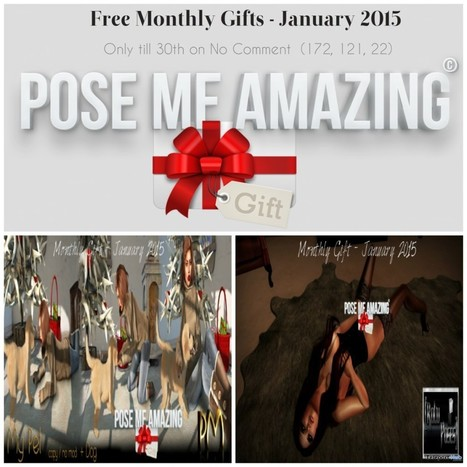 Poses and Props Group Gift by Pose Me Amazing | Teleport Hub - Second Life Freebies | Second Life Freebies | Scoop.it