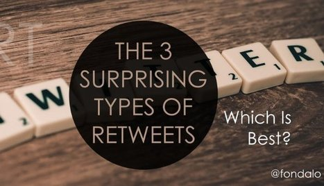 The 3 Surprising Types Of Twitter Retweets | Marketing Planning and Strategy | Scoop.it