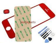 Red iPhone 5 Outer Screen Glass Lens /Digitizer Cover+Home Button+Tape+Tools | many phones | Scoop.it