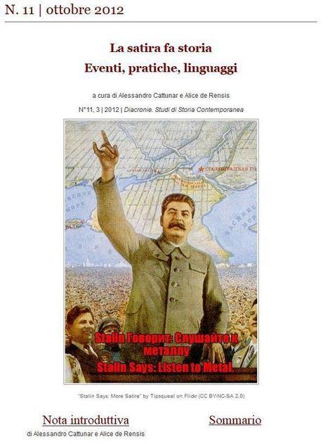 La satire dans l'histoire : événements, pratiques, langages (Diacronie n°11) | Faire de l'histoire 2.0 | Scoop.it