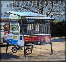 E-Bike Ladestation - Solar-Carport - Pedelec Akku aufladen - Ladestationen für E-Bikes | véhicules électriques étude de marché | Scoop.it