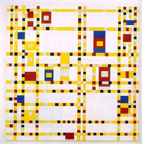 start your novel: What can Piet Mondrian teach you about writing? | Contextual Research | Scoop.it