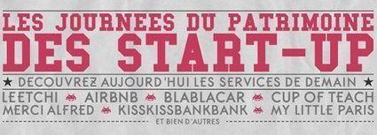 Journées du patrimoine : les start-up aussi font portes-ouvertes - Terrafemina | Social News and Trends | Scoop.it