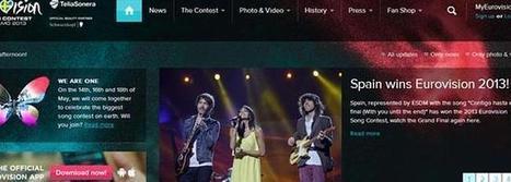 España gana Eurovisión por un error en la web del festival   Actualitat   Scoop.it