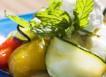 Légumes grillés et fromage de chèvre | The Voice of Cheese | Scoop.it