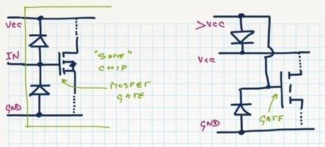» What if I mix 3.3/5.0V – part 2 JeeLabs   Arduino, Netduino, Rasperry Pi!   Scoop.it