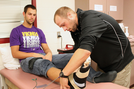 Athletic trainers and coaches take good care of athletes - The Concordian | Athletic Training | Scoop.it