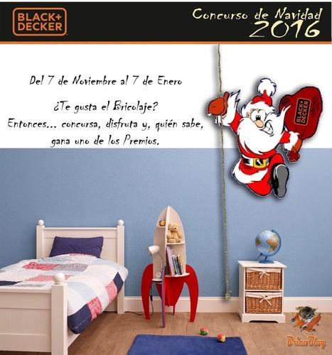 Concurso de BLACK + DECKER de bricolaje para Navidad – BricoBlog | Bricolaje | Scoop.it