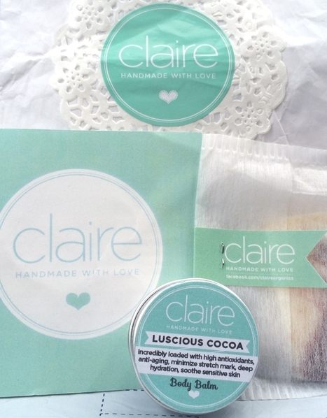 Claire Organics: Luscious Cocoa - Skin Care Terbaik | Life-Style | Scoop.it