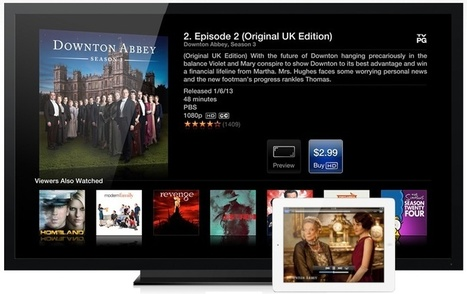Analyst Claims 60-Inch 'iTV' Could Launch in Late 2013 With 'iRing' Motion Control and iPad-Like Auxiliary Screens | All Technology Buzz | Scoop.it