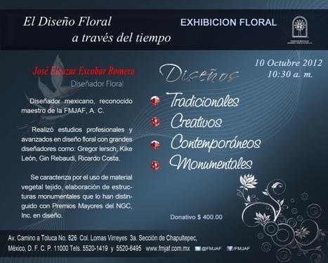 Exhibición – El Diseño Floral a través del tiempo. 10 de octubre.   Fp Agraria   Scoop.it