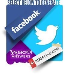 Simitator.com | Social Imitator | Facebook and Twitter Online Generators | ICT Webtools for Language Teachers | Scoop.it
