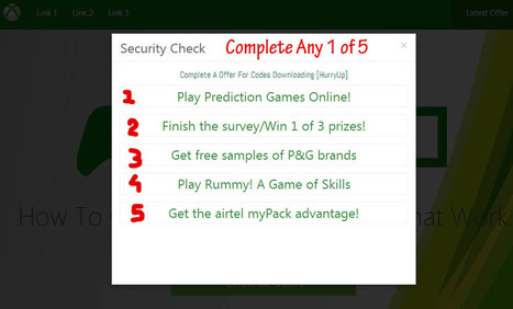 How To Get Free Xbox Live Codes That Work - In 30sec | Akshay | Scoop.it