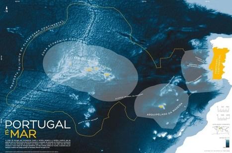Mapa onde se mostra que 97% de Portugal é mar chega hoje às escolas | Proteção e Conservação da Natureza | Scoop.it
