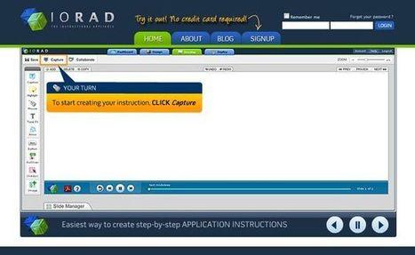 Iorad, utilidad web para crear manuales interactivos del uso de aplicaciones.- | Asesoría TIC y aprendizaje competencial | Scoop.it