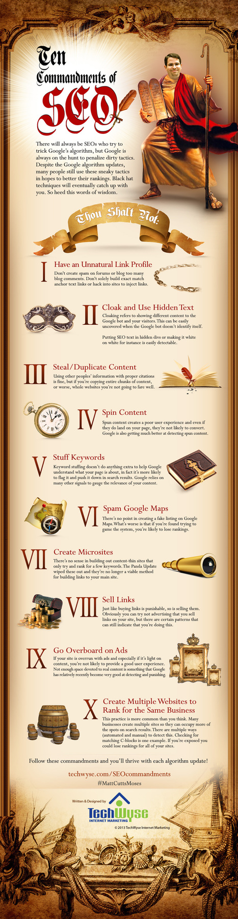 The 10 Commandments Of SEO Inforgraphic | Personal Protection Products, Stun Guns, Pepper Spray | Scoop.it
