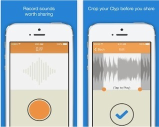 Two Excellent Web Tools to Easily Record and Share Audio Clips | Aller plus loin | Scoop.it