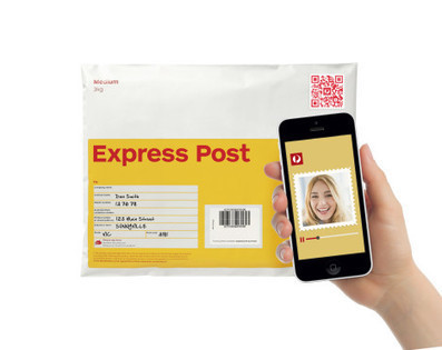 Australia Post uses QR codes to link video messages to parcels - MuMbrella | Using QR Codes | Scoop.it