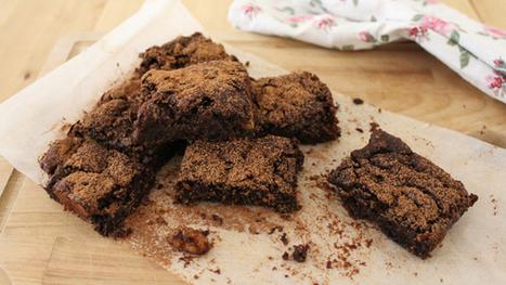 Vegan Brownies : Caroline Mili Artiss | My Vegan recipes | Scoop.it