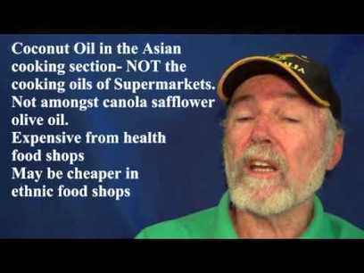 "Dementia Reversal with Coconut oil - in an 85yr old at 35 days. - YouTube (""no harm in trying"") 