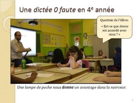Les dictées innovantes: impact sur l'orthographe | Français, langue d'enseignement | Scoop.it