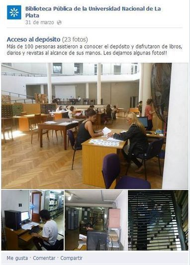 10 recomendaciones para buen uso de Facebook por parte de bibliotecas│@fggutierrez @InfoTecarios | Contenidos educativos digitales | Scoop.it