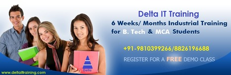 MCA B.tech BCA Six Month Project Training in Gurgaon|PHP Training in Gurgaon | Delta Web Services | Scoop.it
