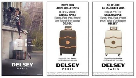 » France : Delsey mène une campagne Drive to Store sur les écrans d'ECN   Affichage dynamique et PLV   Scoop.it