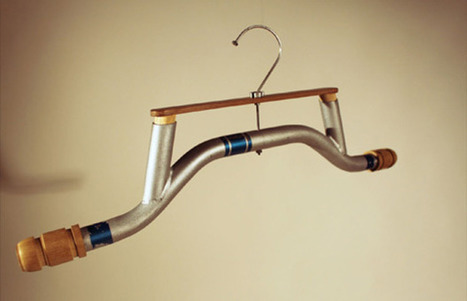 Nottingham Trent Student Makes Clothes Hangers out of Bicycles | Ethical Innovation | Scoop.it