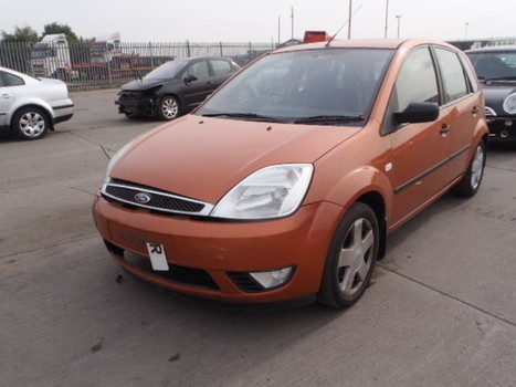 Salvage 2005 bronze Ford Fiesta Fla with VIN WF0HXXGAJH4 on auction | VEHICLES on Auction | Scoop.it