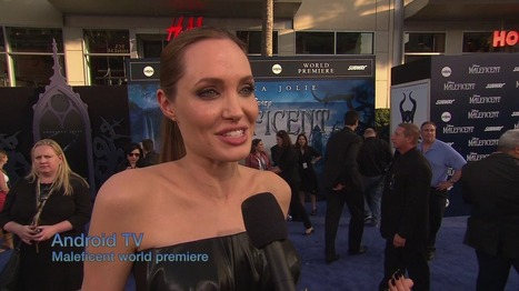 Maleficent Premiere Angelina Jolie Android TV 2 | AllAboutSocialMedia | Scoop.it